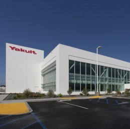 Yakult Manufacture plant exterior and interior Painting